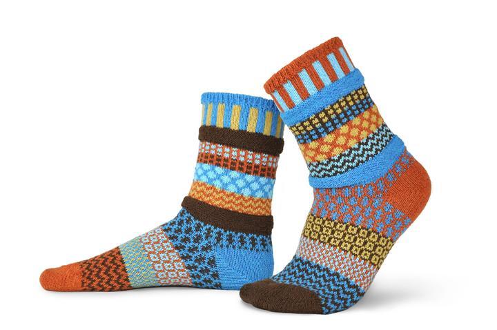 Solmate mismatched socks